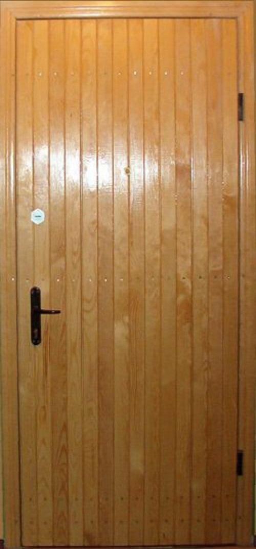 Отделка деревом металлической двери своими руками 68
