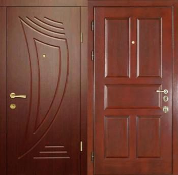 металлические двери мдф для дачи