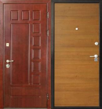 дверь входная мдф с наружи и ламинат внутри