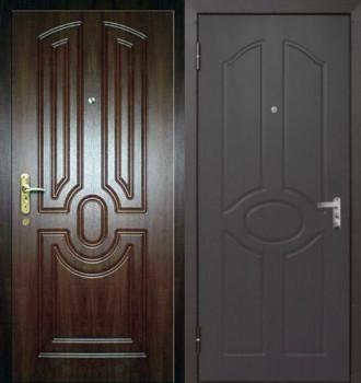 входные двери массив сосны 85 см