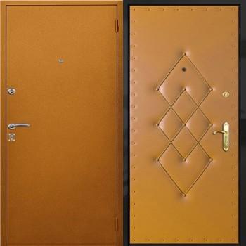 металлические двери квартирные порошковое напыление